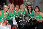 Linda Darcy Bolton, Paula Bell, Sandra Bolton, Laura Grange, Kathy Synnott and Sinead Herbert cheering on Ireland at Wm Kearns. Photo: Colin Bell/pressphotos.ie