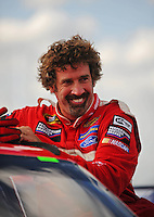 Aug. 7, 2009; Watkins Glen, NY, USA; NASCAR Sprint Cup Series driver Boris Said during qualifying for the Heluva Good at the Glen. Mandatory Credit: Mark J. Rebilas-