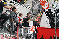 Fans von Eintracht Frankfurt - 22.09.2019: Eintracht Frankfurt vs. Borussia Dortmund, Commerzbank Arena, 5. Spieltag<br /> DISCLAIMER: DFL regulations prohibit any use of photographs as image sequences and/or quasi-video.