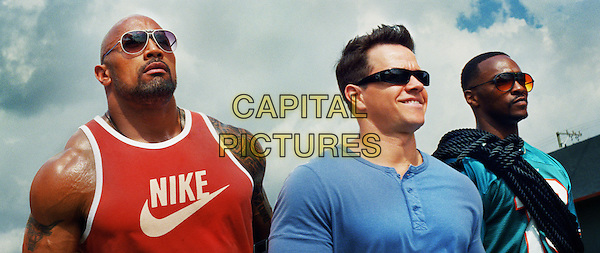 Dwayne &quot;The Rock&quot; Johnson, Mark Wahlberg &amp; Anthony Mackie<br /> in Pain &amp; Gain (2013) <br /> *Filmstill - Editorial Use Only*<br /> CAP/FB<br /> Supplied by Capital Pictures