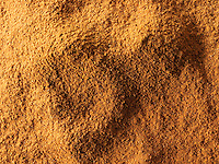 Ground Cinnamon Powder - stock photo