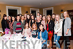 Baby Shower: Chloe Heaphy, Ballylongford, left front seated celerbrating her baby shower with family & friends at the Listowel Arms Hotel on Saturday night last.