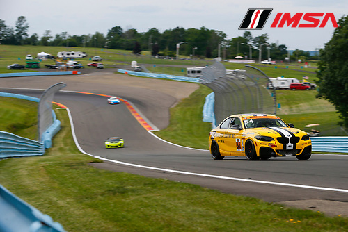 IMSA Continental Tire SportsCar Challenge<br /> Continental Tire 120 at The Glen<br /> Watkins Glen International, Watkins Glen, NY USA<br /> Thursday 29 June 2017<br /> 54, BNW, BMW 228i, ST, Michael Johnson, Stephen Simpson<br /> World Copyright: Jake Galstad/LAT Images