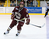 Tommy Cross (BC - 4) - The Merrimack College Warriors defeated the Boston College Eagles 5-3 on Sunday, November 1, 2009, at Lawler Arena in North Andover, Massachusetts splitting the weekend series.