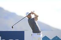 Lucas Bjerregaard (DEN) on the 11th tee during Round 2 of the Dubai Duty Free Irish Open at Ballyliffin Golf Club, Donegal on Friday 6th July 2018.<br /> Picture:  Thos Caffrey / Golffile