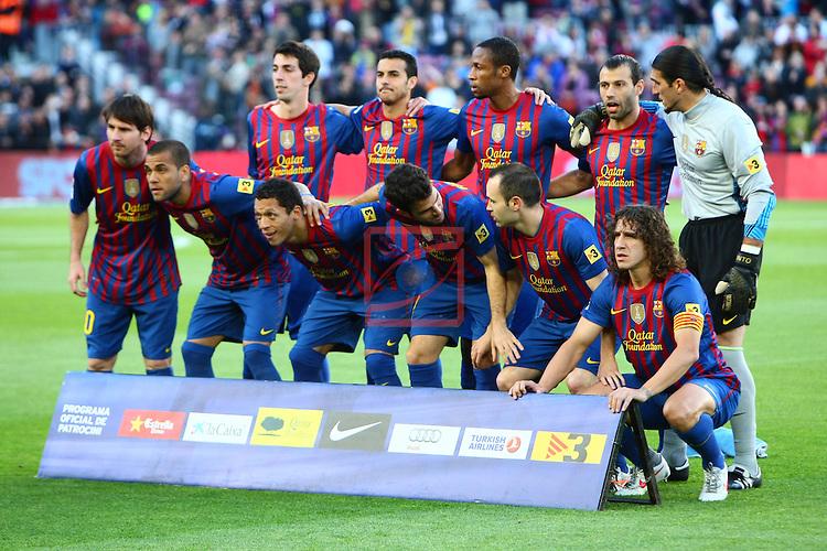 FC Barcelona vs Malaga CF: 4-1 - League BBVA 2011/12 - Game: 20.