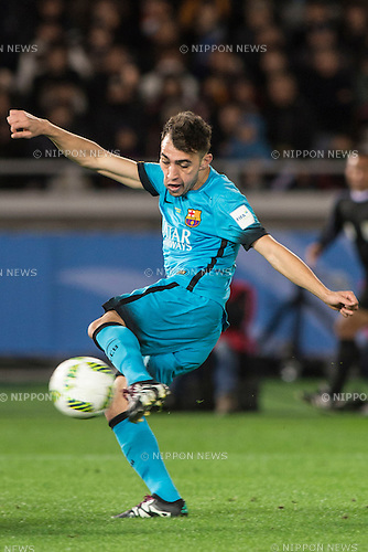 Munir El Haddadi (Barcelona), DECEMBER 17, 2015 - Football / Soccer : FIFA Club World Cup Japan 2015 semi-final match between FC Barcelona 3-0 Guangzhou Evergrande at Yokohama International Stadium, Kanagawa, Japan. (Photo by Enrico Calderoni/AFLO)