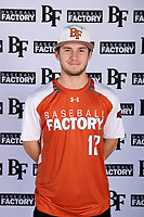Easton Walker (12) of Aledo ISD in Willow Park, Texas during the Baseball Factory All-America Pre-Season Tournament, powered by Under Armour, on January 12, 2018 at Sloan Park Complex in Mesa, Arizona.  (Mike Janes/Four Seam Images)