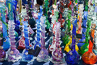 Glass Bongs, Hempfest Seattle 2016, Washington State, WA, USA.