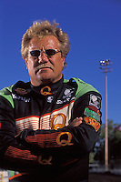Sprint car driver Steve Kinser, Calistoga, CA USA September 2000