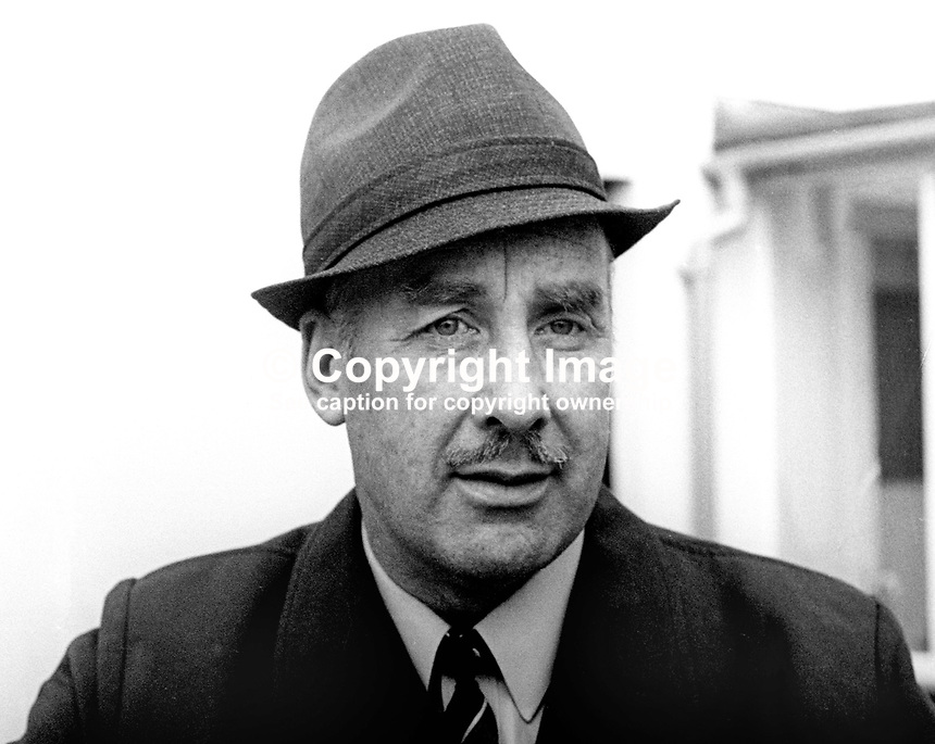 David Brien, Ballinamallard, Co Fermanagh, Independent, candidate, Fermanagh &amp; S Tyrone, N Ireland Assembly Election, June 1973, 197306050352<br />