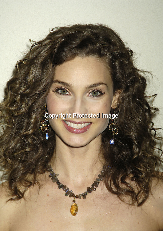 Alicia Minshew ..at ABC Casino Night on October 27, 2005 at The Lighthouse at Chelsea Piers. ..Photo by Robin Platzer, Twin Images