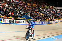 Picture by Alex Whitehead/SWpix.com - 03/03/2018 - Cycling - 2018 UCI Track Cycling World Championships, Day 4 - Omnisport, Apeldoorn, Netherlands - Ellie Dickinson of Great Britain competes in the Women's Individual Pursuit qualifying.