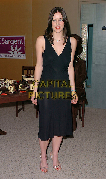 MICHELLE RYAN.The Chocolate Ball,.The Dorchester, London, England, .March 24th 2006..full length black dress.Ref: CAN.www.capitalpictures.com.sales@capitalpictures.com.©Capital Pictures