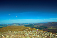 Abernethy National Nature Reserve from the summit of Meall a Bhuachaille, Aviemore, Cairngorm National Park, Highland