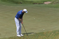 Ryan Brehm (USA) putts on the 5th green during Saturday's Round 3 of the 117th U.S. Open Championship 2017 held at Erin Hills, Erin, Wisconsin, USA. 17th June 2017.<br /> Picture: Eoin Clarke | Golffile<br /> <br /> <br /> All photos usage must carry mandatory copyright credit (&copy; Golffile | Eoin Clarke)