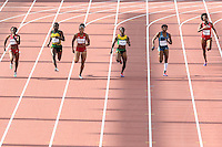 TORONTO, CANADÁ, 24.07.2015 - PAN-ATLETISMO - Prova de 200 metros no atletismo nos Jogos Panamericanos na cidade de Toronto no Canadá, nesta sexta-feira, 24 (Foto: Vanessa Carvalho/Brazil Photo Press)