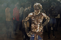Aboriginal burial ceremony in Arnhem Land Northern territory Australia