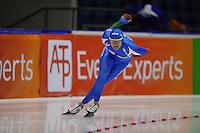 SCHAATSEN: HEERENVEEN: Thialf, World Cup, 02-12-11, 1500m B, Matteo Anesi ITA, ©foto: Martin de Jong