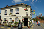 The Hop Blossom pub in Long Garden Walk, Farnham, Surrey