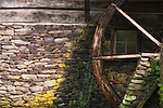 The water wheel at Cutalossa Farm - Solebury PA.