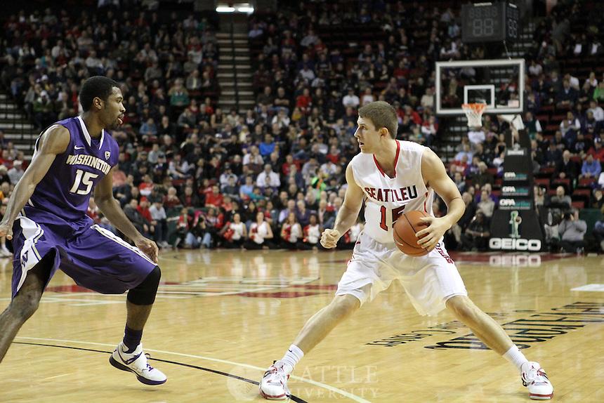 12132012-  Seattle University vs. University of Washington - Men's basketball - 1st half