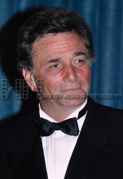 Peter Falk attending the 1985 Emmy Awards in Los Angeles California.