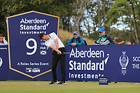 Ashley Chesters (ENG) on the 9th during Round 2 of the Aberdeen Standard Investments Scottish Open 2019 at The Renaissance Club, North Berwick, Scotland on Friday 12th July 2019.<br /> Picture:  Thos Caffrey / Golffile<br /> <br /> All photos usage must carry mandatory copyright credit (© Golffile | Thos Caffrey)
