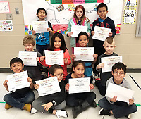 Photo Submitted<br /> Noel Primary is pleased to announce and congratulate the Academic Accolades recipients chosen for Monday, March 11, and shown (front, left), Victor Vazquez-Serna, Don Beaman, Ciana Jose, and RJ Vasquez; (middle, left), Eli Slaughter, Danna Solas, Vlayten Moufa, and Corban Ashcraft; (back, left), Justin Rojas, Makayla House, and KD Johnson.