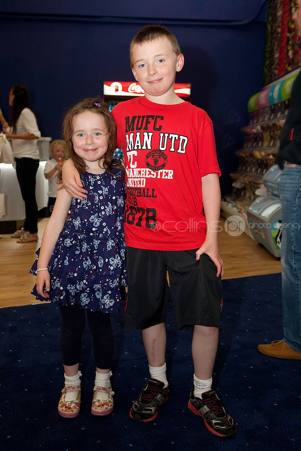 15/7/2011. Lauren and Christopher Byrne are pictured at the opening of UCI Stillorgan. Picture Collins Photo Agency.