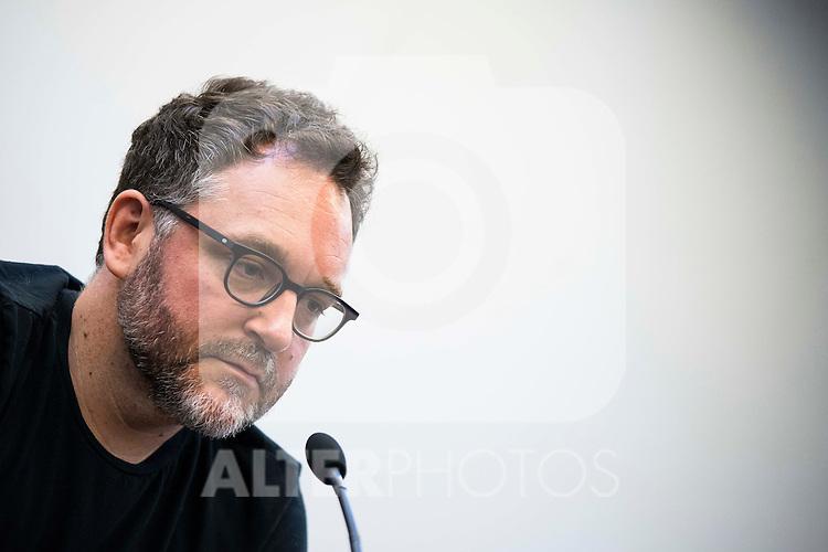 American director Colin Trevorrow during a press conference at Festival de Cine Fantastico de Sitges in Barcelona. October 08, Spain. 2016. (ALTERPHOTOS/BorjaB.Hojas)