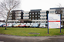 20040401     Copyright Pic : James Stewart.File Name : jspa13_hospital_row.GENERAL VIEW OF STIRLING ROYAL INFIRMARY...James Stewart Photo Agency 19 Carronlea Drive, Falkirk. FK2 8DN      Vat Reg No. 607 6932 25.Office     : +44 (0)1324 570906     .Mobile  : +44 (0)7721 416997.Fax         :  +44 (0)1324 570906.E-mail  :  jim@jspa.co.uk.If you require further information then contact Jim Stewart on any of the numbers above.........