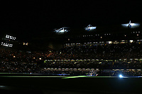 Stamford Bridge is plunged into darkness just prior to the two teams walking onto the pitch during Chelsea vs Arsenal, Caraboa Cup Football at Stamford Bridge on 10th January 2018