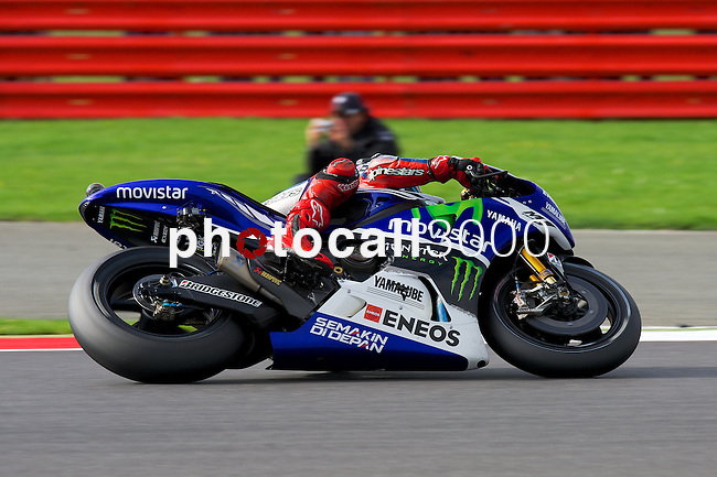 hertz british grand prix during the world championship 2014.<br /> Silverstone, england<br /> August 31, 2014. <br /> Race MotoGP<br /> jorge lorenzo<br /> PHOTOCALL3000/ RME