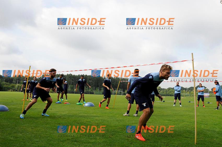 Ciro Immobile<br /> 06-08-2016 Marienield<br /> Allenamento Lazio <br /> SS Lazio traning day<br /> @ Marco Rosi / Fotonotizia / Insidefoto
