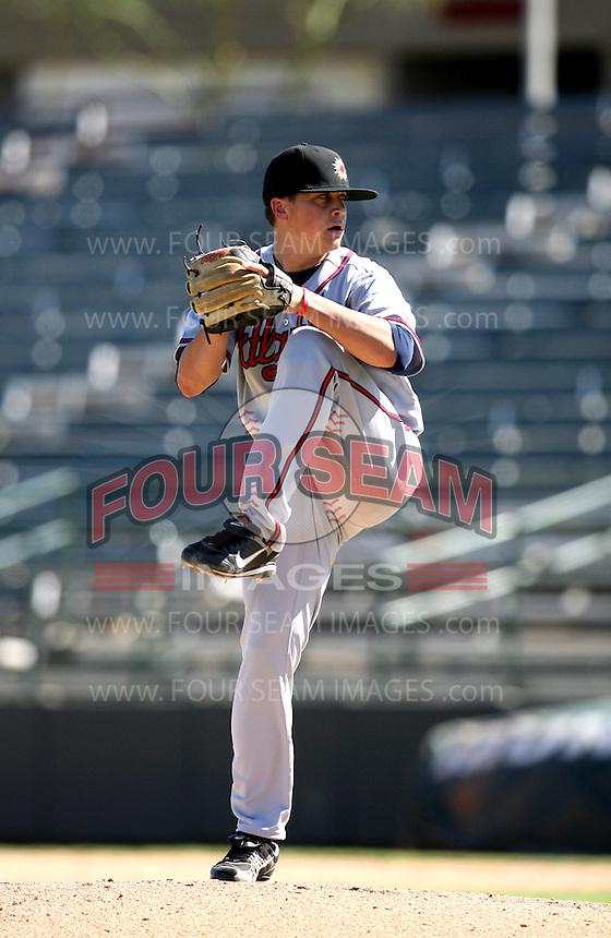 Kris Medlen / Mesa Solar Sox 2008 Arizona Fall League..Photo by:  Bill Mitchell/Four Seam Images