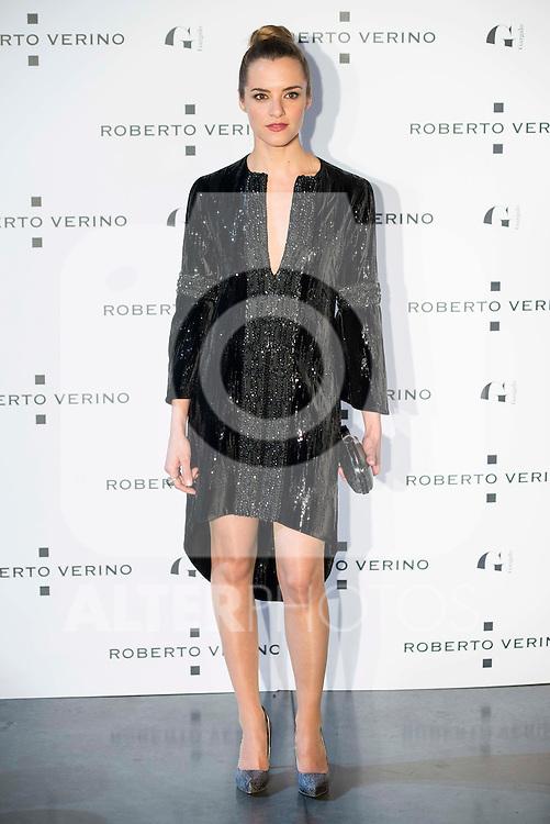 "Alejandra Lorente during the presentation of the new Spring-Summer collection ""Un Balcon al Mar"" of Roberto Verino at Platea in Madrid. March 16, 2016. (ALTERPHOTOS/Borja B.Hojas)"