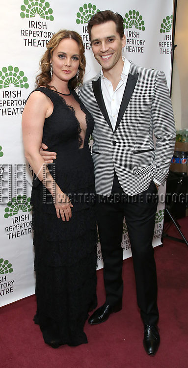 Melissa Errico and Ryan Silverman attends the 'Sondheim at Seven' 2017 Gala Benefit Production at Town Hall on June 13, 2017 in New York City.