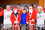 Taking part in the Santa 5k fun run at Tralee Bay Wetlands on Sunday were l-r: Paul Moore, Martin Moore, Johnaton Moore, Stephen Costello, Patrick Dowling, Celine Cusack, Alex O'Shea, Fergal O'Brien, Paul Cusack and Mike McCarthy.