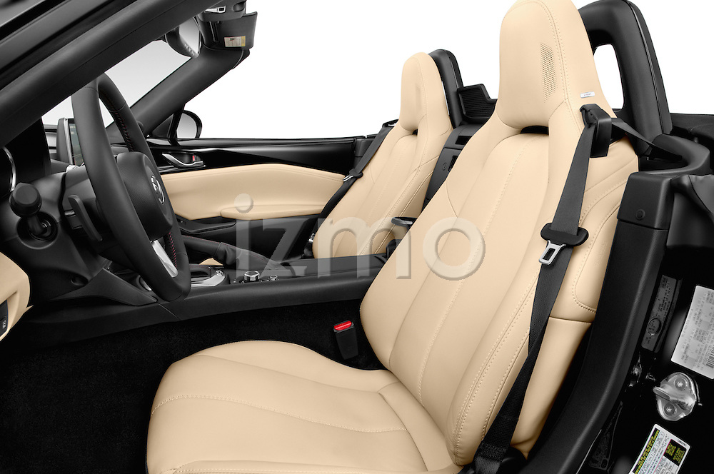 Front seat view of 2016 Mazda MX-5 Miata Grand Touring 2 Door Convertible Front Seat car photos