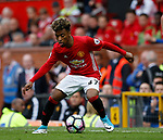 16 year old Angel Gomes of Manchester United on his first team debut during the English Premier League match at the Old Trafford Stadium, Manchester. Picture date: May 21st 2017. Pic credit should read: Simon Bellis/Sportimage