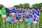 The Kerins O'Rahilly's team that celebrated after he defeated Kilcummin in the Molyneaux Cup final in Farranfore on Sunday