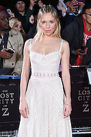 Sienna Miller at the UK premiere of &quot;The Lost City of Z&quot; at the British Museum, London, UK. <br /> 16 February  2017<br /> Picture: Steve Vas/Featureflash/SilverHub 0208 004 5359 sales@silverhubmedia.com