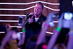"Brian Littrell of the Backstreet Boys attends a fan meeting performance concert during their new music album ""In A World Like This"" presentation at 40 Principales Cafe on November 12, 2013 in Madrid, Spain. (ALTERPHOTOS/Victor Blanco)"
