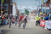 Gianni Meersman (BEL/OPQS) wins an intermediate sprint<br /> <br /> Ster ZLM Tour<br /> stage 3: Buchten-Buchten (190km)