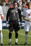 15 November 2009: Virginia's Diego Restrepo. The University of Virginia Cavaliers defeated the North Carolina State University Wolfpack at WakeMed Stadium in Cary, North Carolina in the Atlantic Coast Conference Men's Soccer Tournament Championship game.