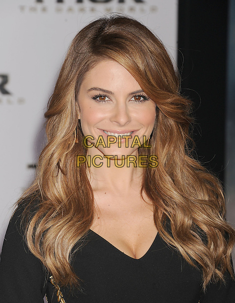 HOLLYWOOD, CA - NOVEMBER 04: Maria Menounos at the Los Angeles Premiere 'Thor: The Dark World' at the El Capitan Theatre on November 4, 2013 in Hollywood, California, USA.<br /> CAP/ROT/TM<br /> &copy;Tony Michaels/Roth Stock/Capital Pictures