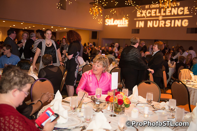 EXCELLENCE IN NURSING AWARDS RECEPTION presented by St. Louis Magazine at THE CHASE PARK PLAZA Hotel in St. Louis, MO on Apr 23, 2014.