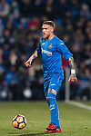 Vitorino Gabriel Pacheco Antunes of Getafe CF in action during the La Liga 2017-18 match between Getafe CF and Athletic Club at Coliseum Alfonso Perez on 19 January 2018 in Madrid, Spain. Photo by Diego Gonzalez / Power Sport Images
