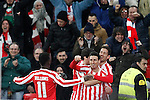 Athletic de Bilbao's Inaki Williams, Mikel San Jose, Enric Saborit and Aritz Aduriz celebrate goal during Spanish Kings Cup match. January 05,2017. (ALTERPHOTOS/Acero)